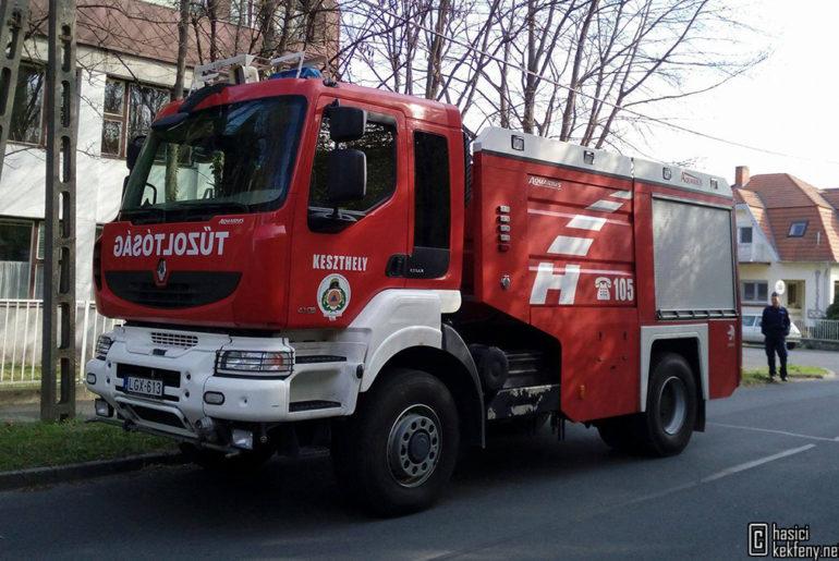Hivatásos Tűzoltóparancsnokság Keszthely