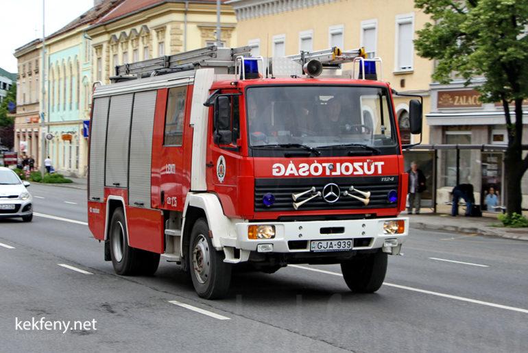 Hivatásos Tűzoltóság Lenti
