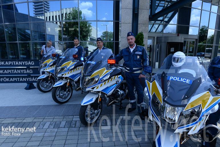 Új motorok a rendőrségnél