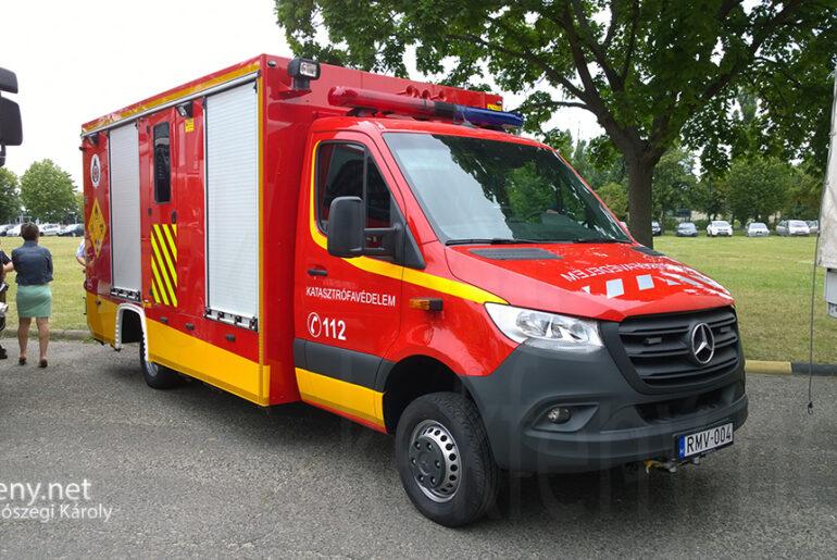 Újabb tűzoltóautók szolgálatban